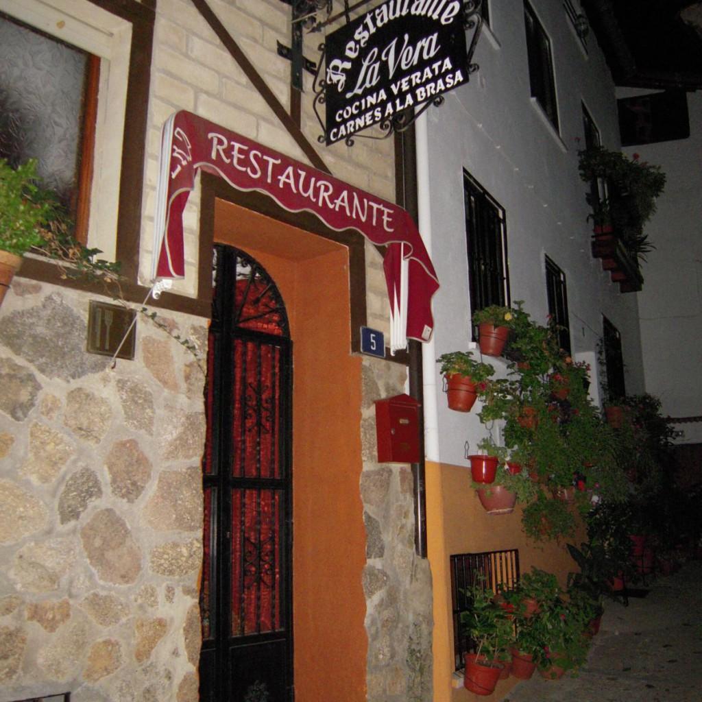 Restaurante en Garganta La Olla La Vera