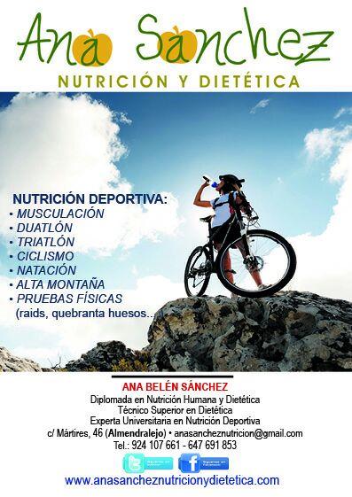 NUTRICION Y DIETETICA ALMENDRALEJO ANA SANCHEZ
