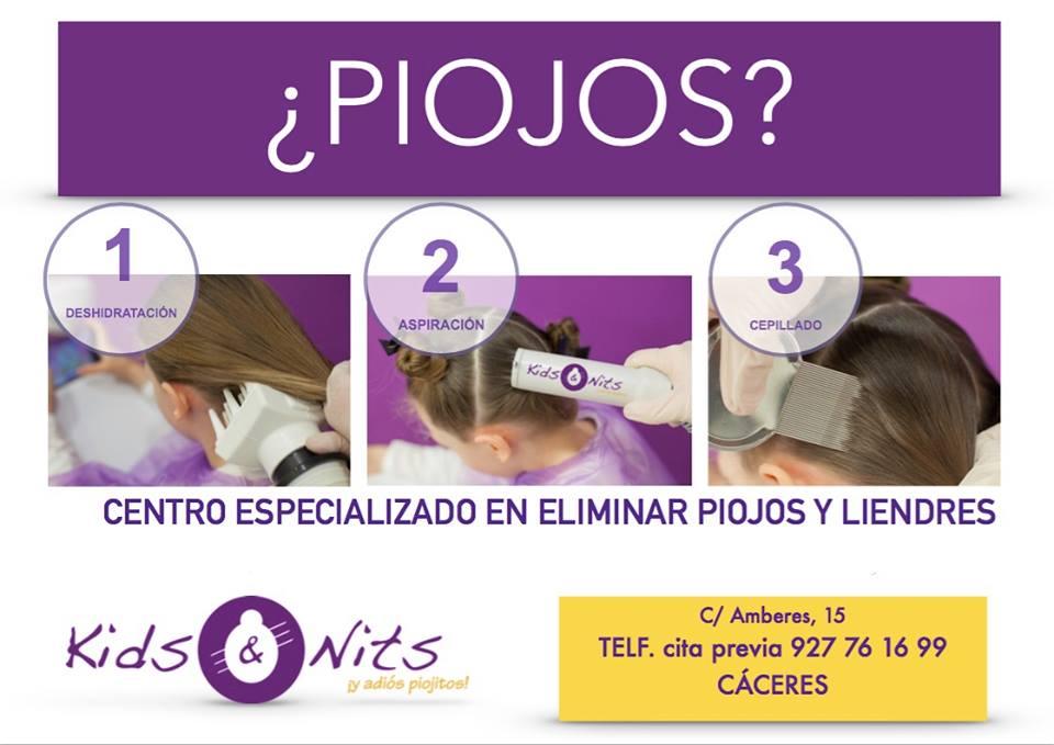 CENTRO DE PIOJOS EN CACERES KIDS AND NITS