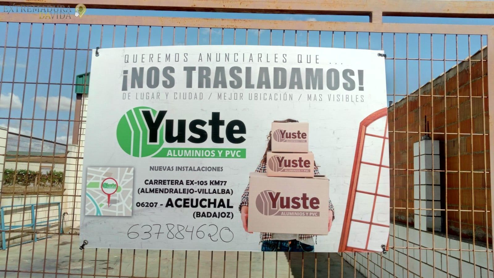 ALUMINIOS Y PVC EN ALMENDRALEJO YUSTE Y GODOY S.CUSTE Y GODOY S.C ACEUCHAL