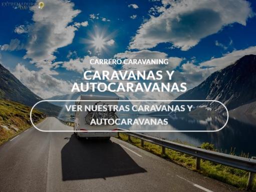 Autocarvanas en Extremadura Carrero Cáceres