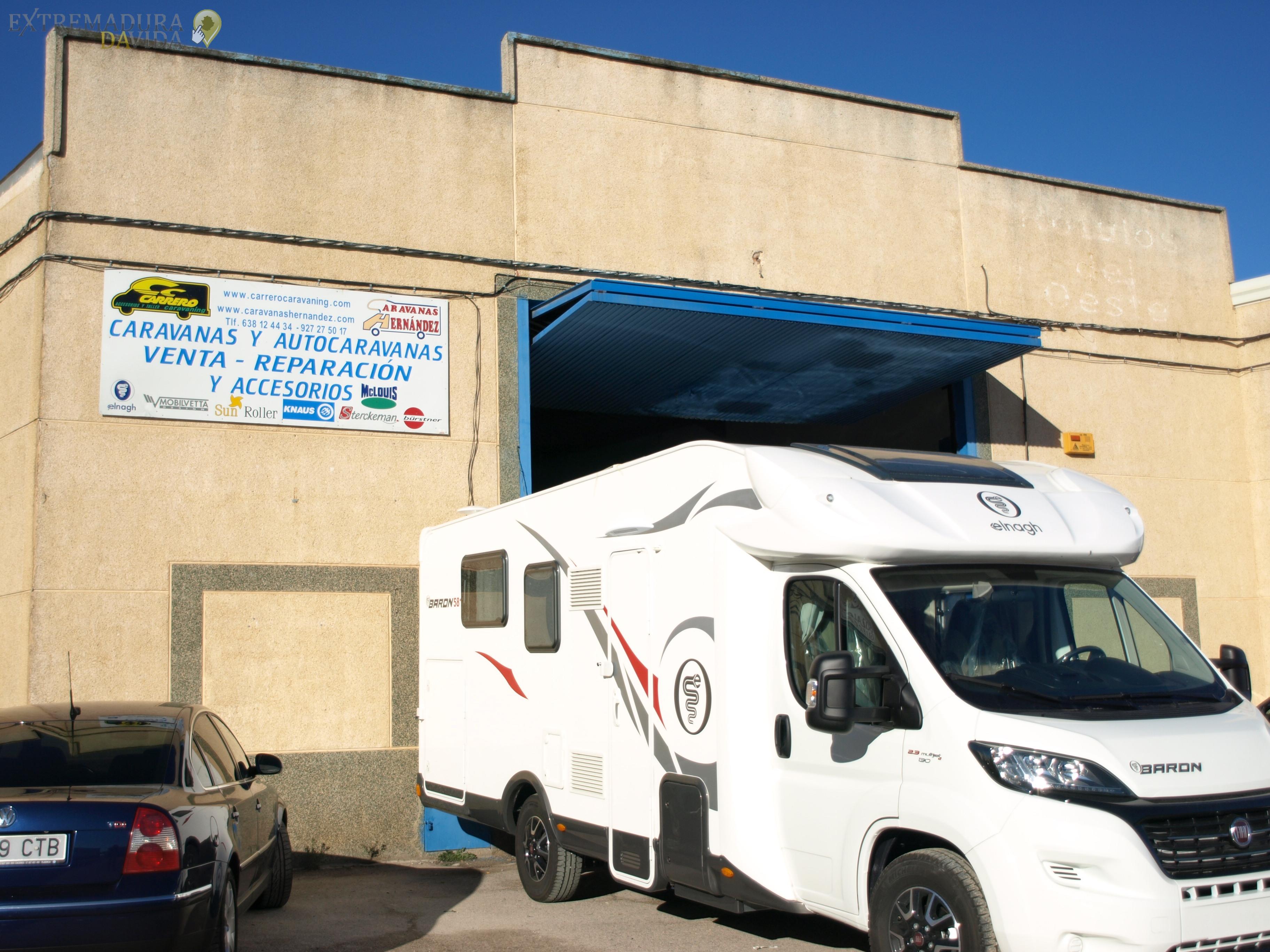 Autocaravanas y Caravanas en Cáceres , Carrero