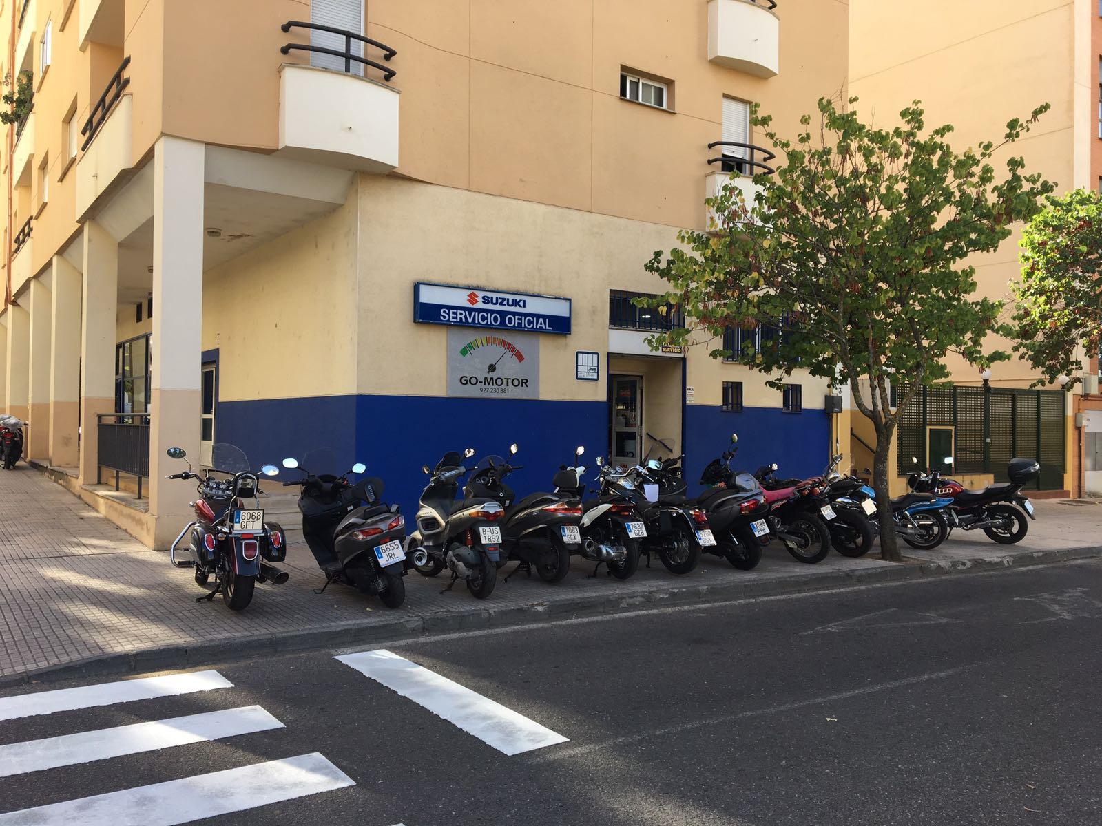Taller Motos Cáceres Go Motor