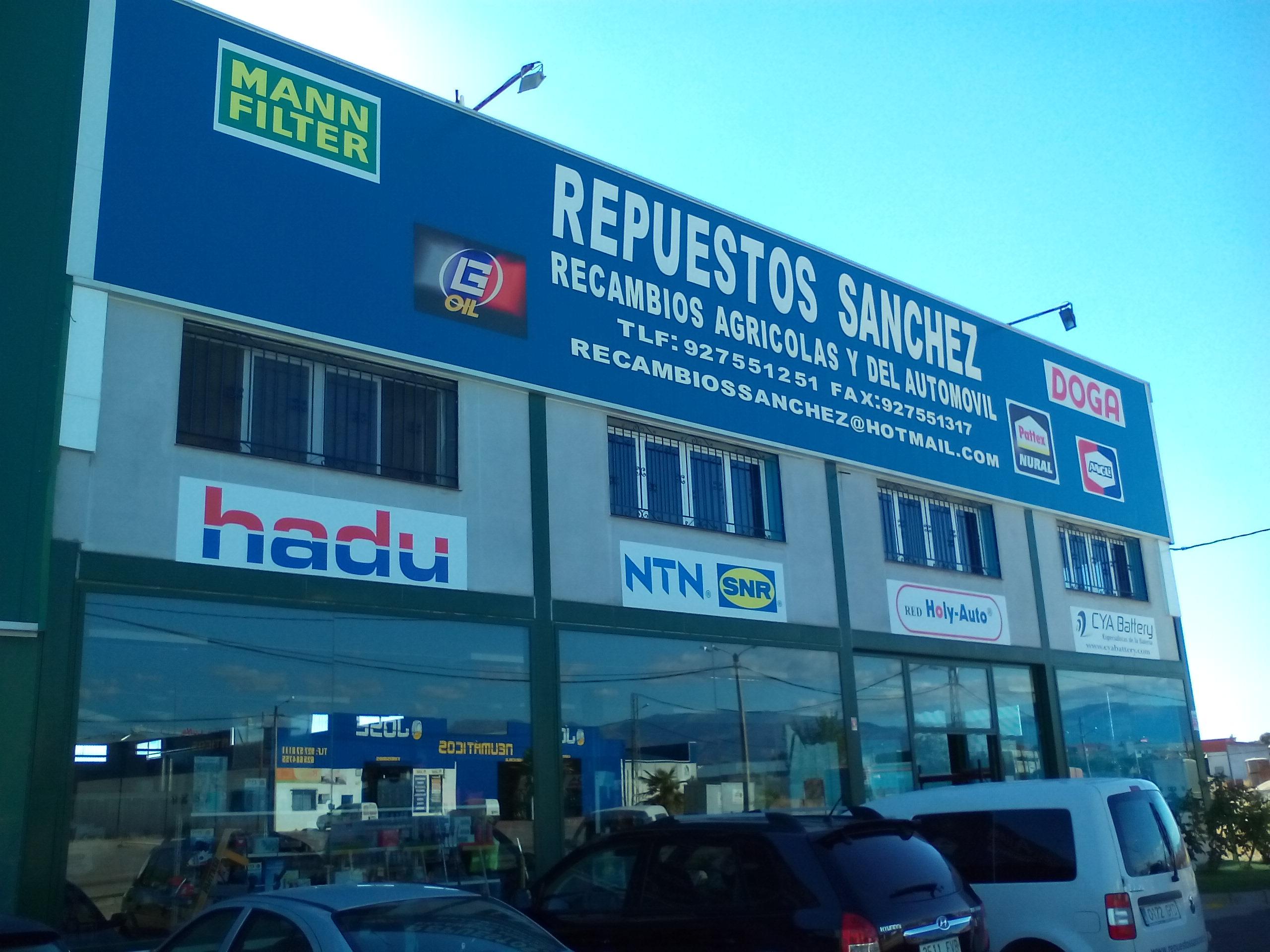 REPUESTOS AGRICOLA Y AUTOMOVILES EN TALAYUELA SANCHEZ