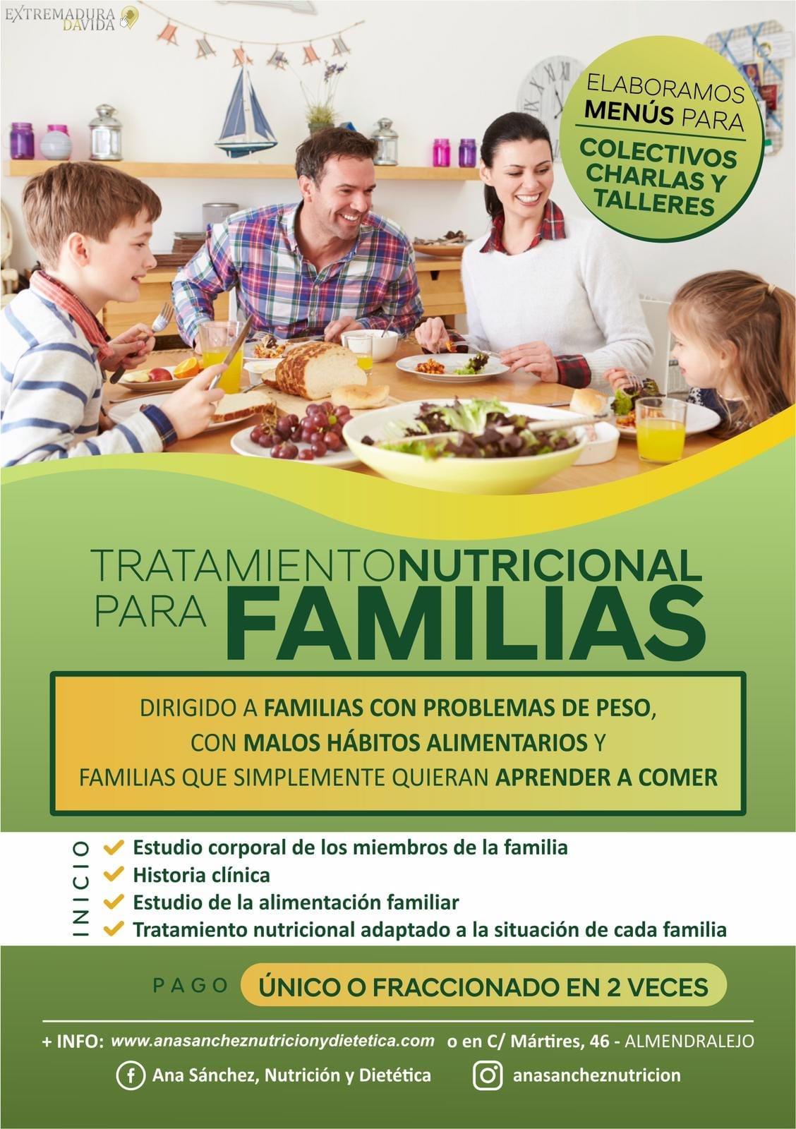 Nutricionista Dietista en Almendralejo Ana Sánchez