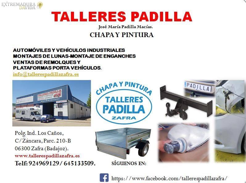 TALLER CHAPA Y PINTURA PADILLA ZAFRA