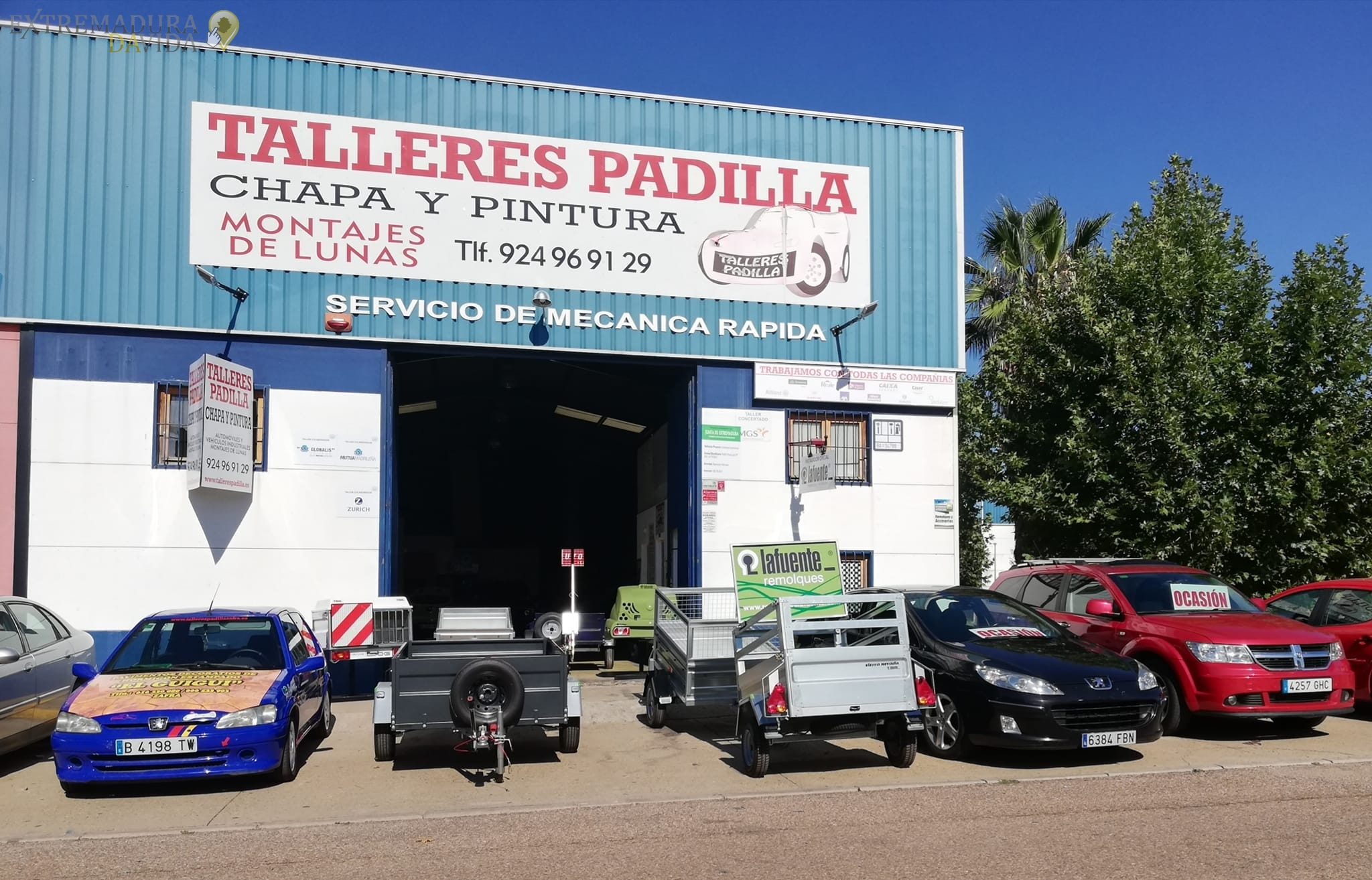 Taller chapa y pintura en Zafra Padilla Pintar coche