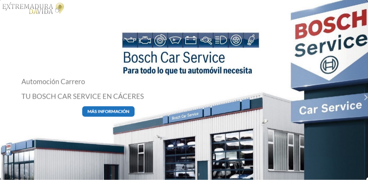 Talleres Mecánicos en Cáceres carrero