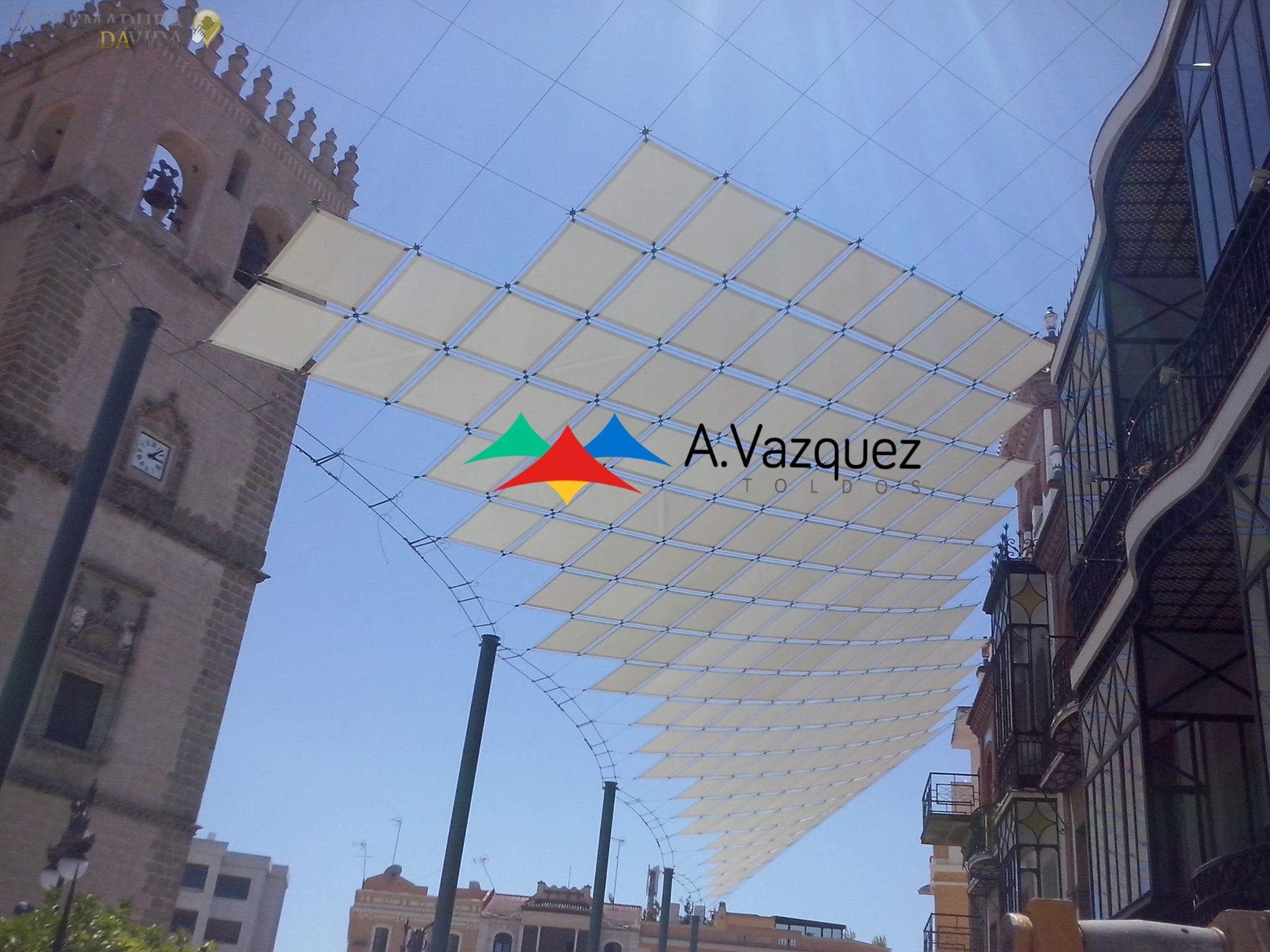 Toldos en Almendralejo Badajoz A. Vazquéz Tierra de Barros