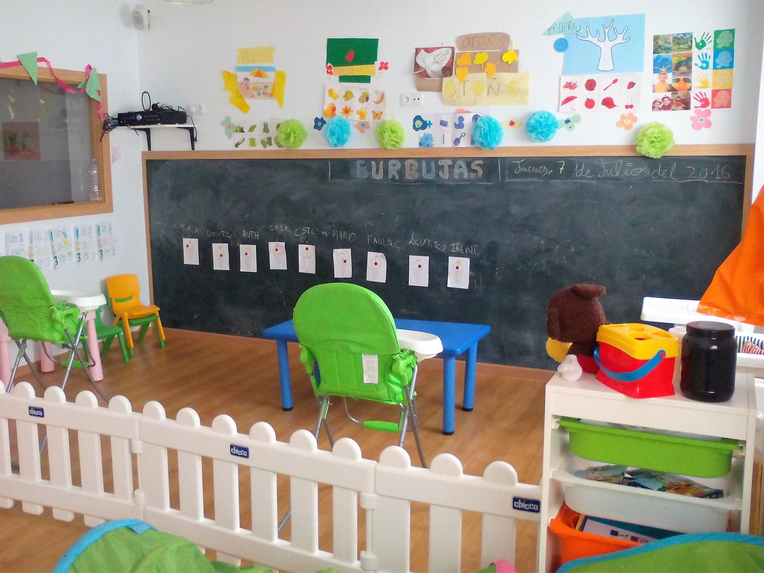 CENTRO INFANTIL EN CACERES BURBUJAS