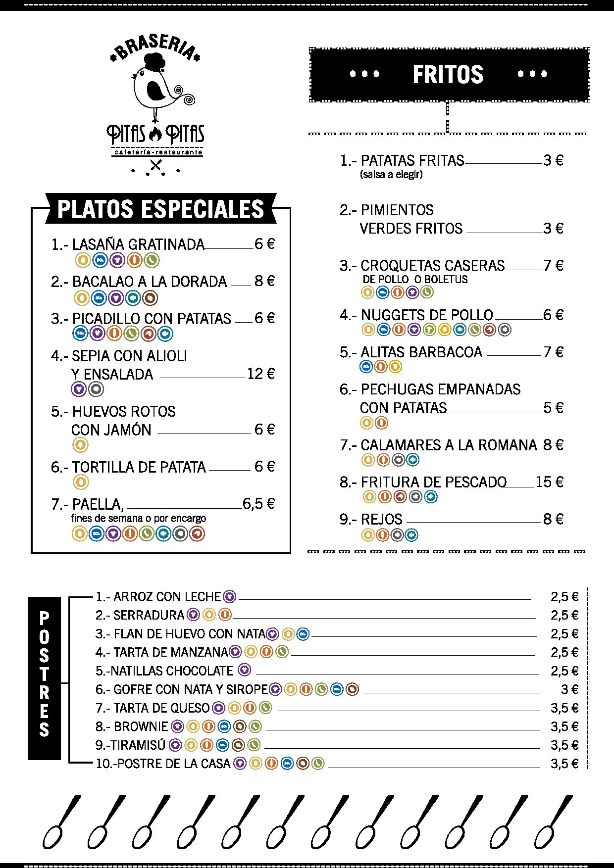 Restaurante braseria plasencia Pitas Pitas