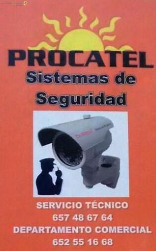 SISTEMAS DE SEGURIDAD EN CACERES PROCATEL - ORANGE EMPRESAS