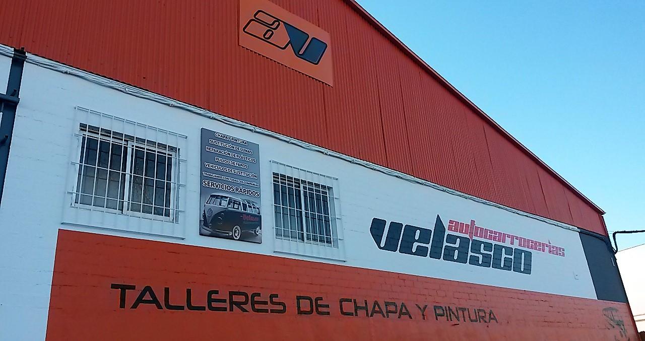 taller chapa y pintura charca musia Cáceres Velasco