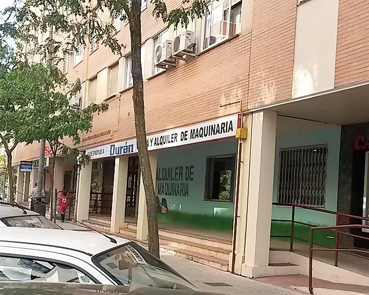 alquiler maquinaría Cáceres Electrónica Duran