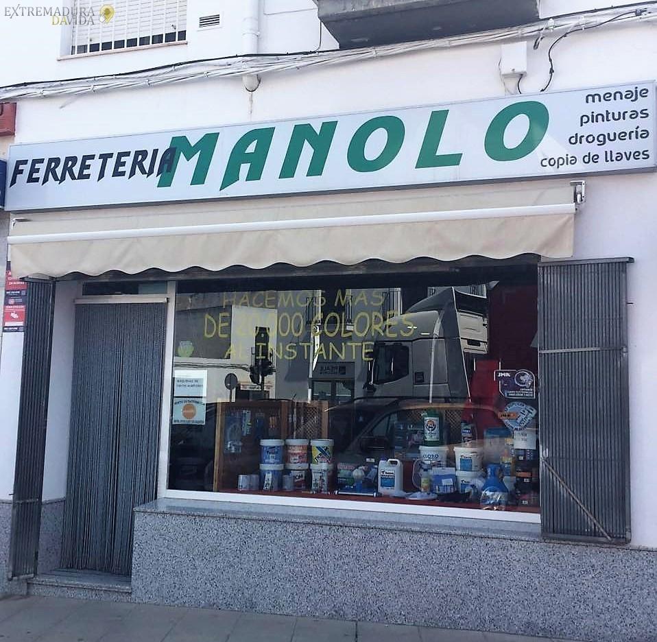FERRETERIA EN FUENTE DEL MAESTRE MANOLO