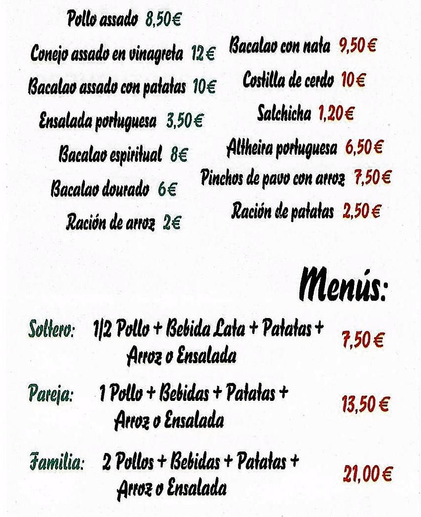 Pollos Merida Asados y comida Portuguesa