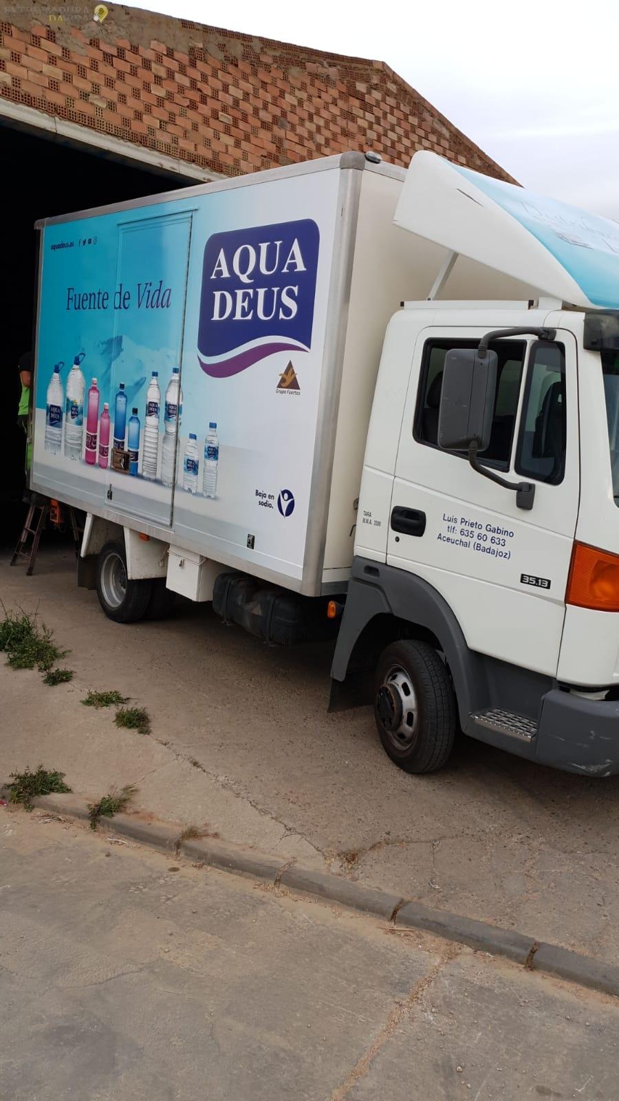 Distribución a tiendas Tierra de Barros Luis prieto Aceuchal (