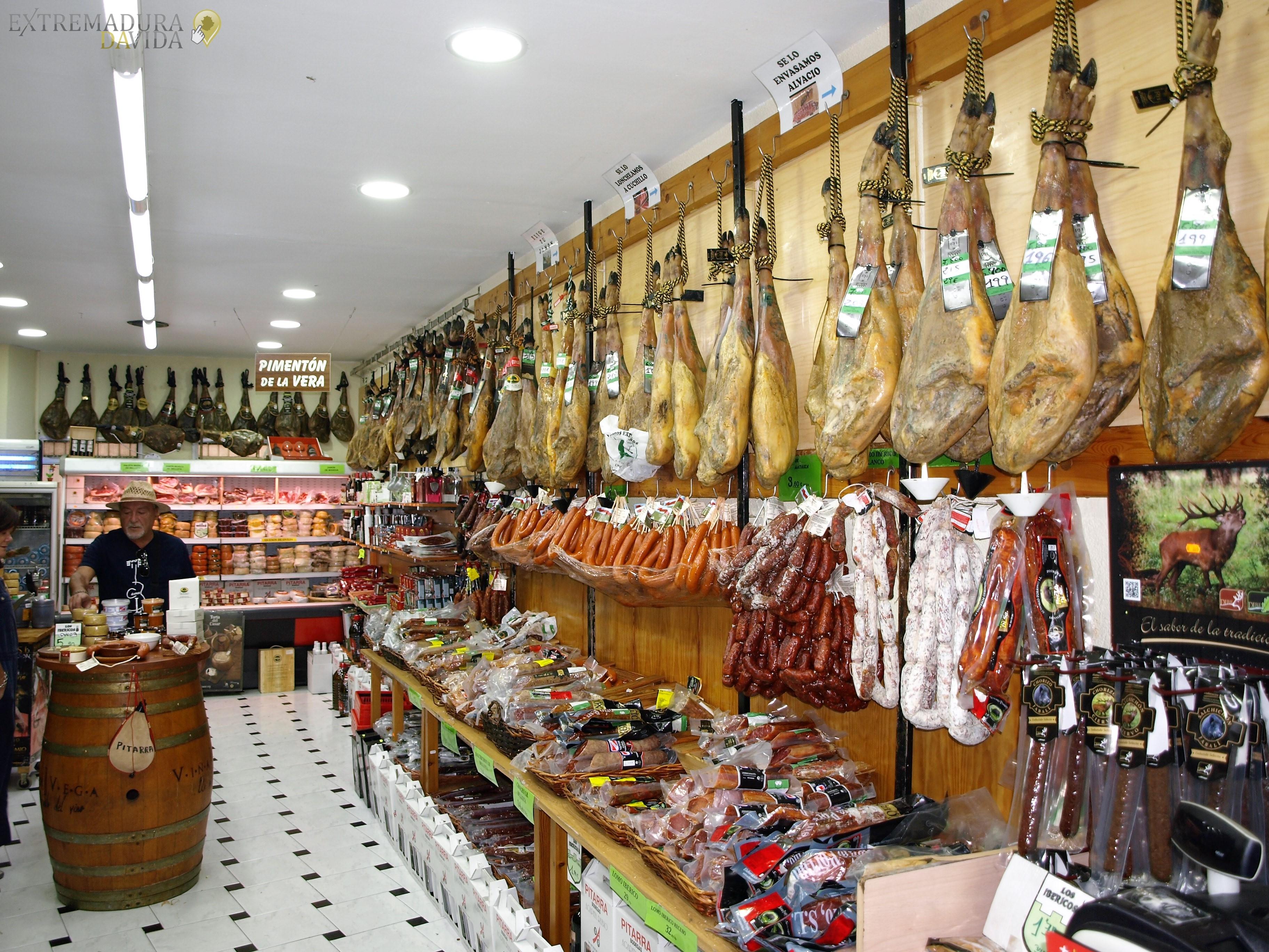 Productos Extremeños en Cáceres Los Ibéricos