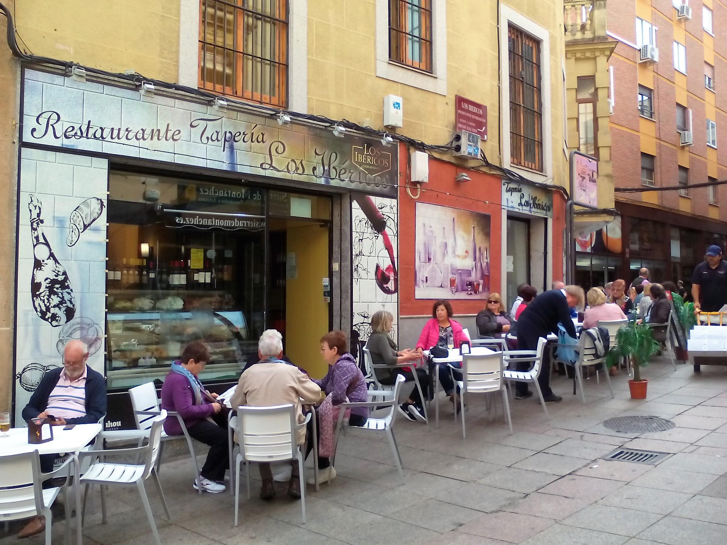 Tapería Restaurante Cáceres Los Ibéricos