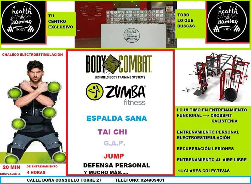 gimnasio Don Benito Health Training