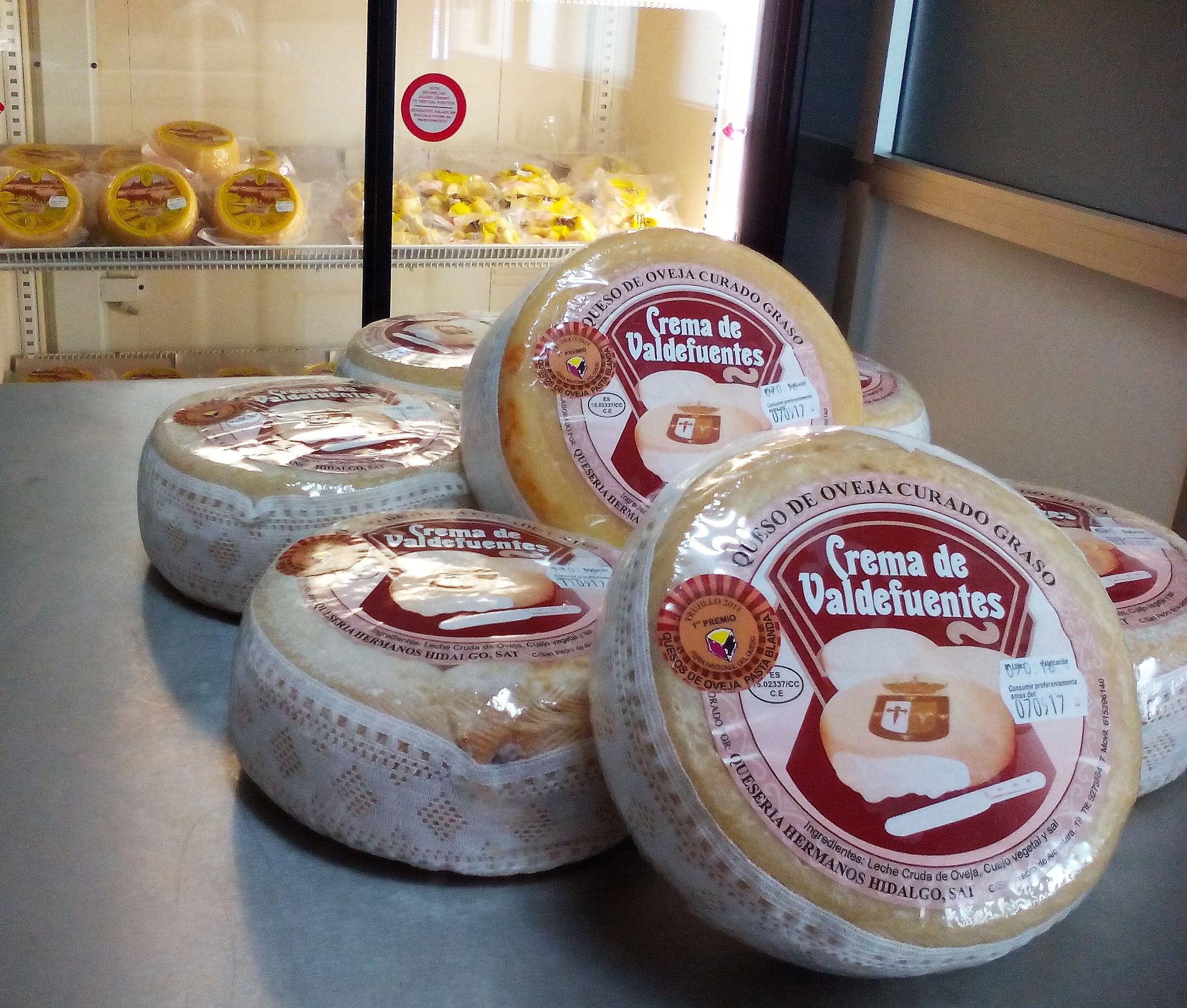 quesos extremadura oveja hidalgo