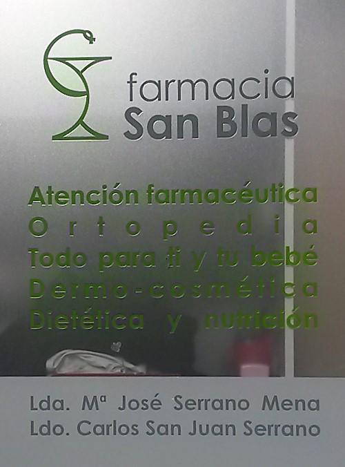 venta alquiler ortopedia Cáceres Farmacia San Blas