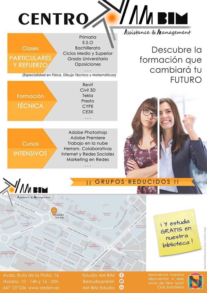 centro de formación clases particulares Cáceres Ambim