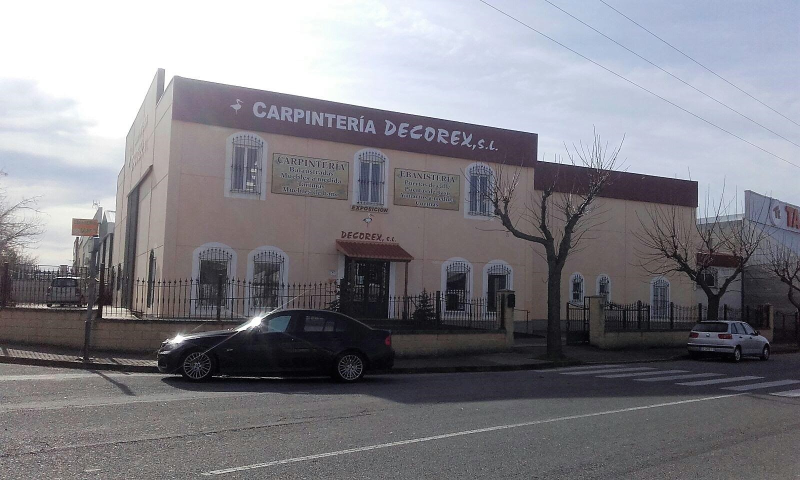 Carpintería Decorex en Malpartida de Cáceres