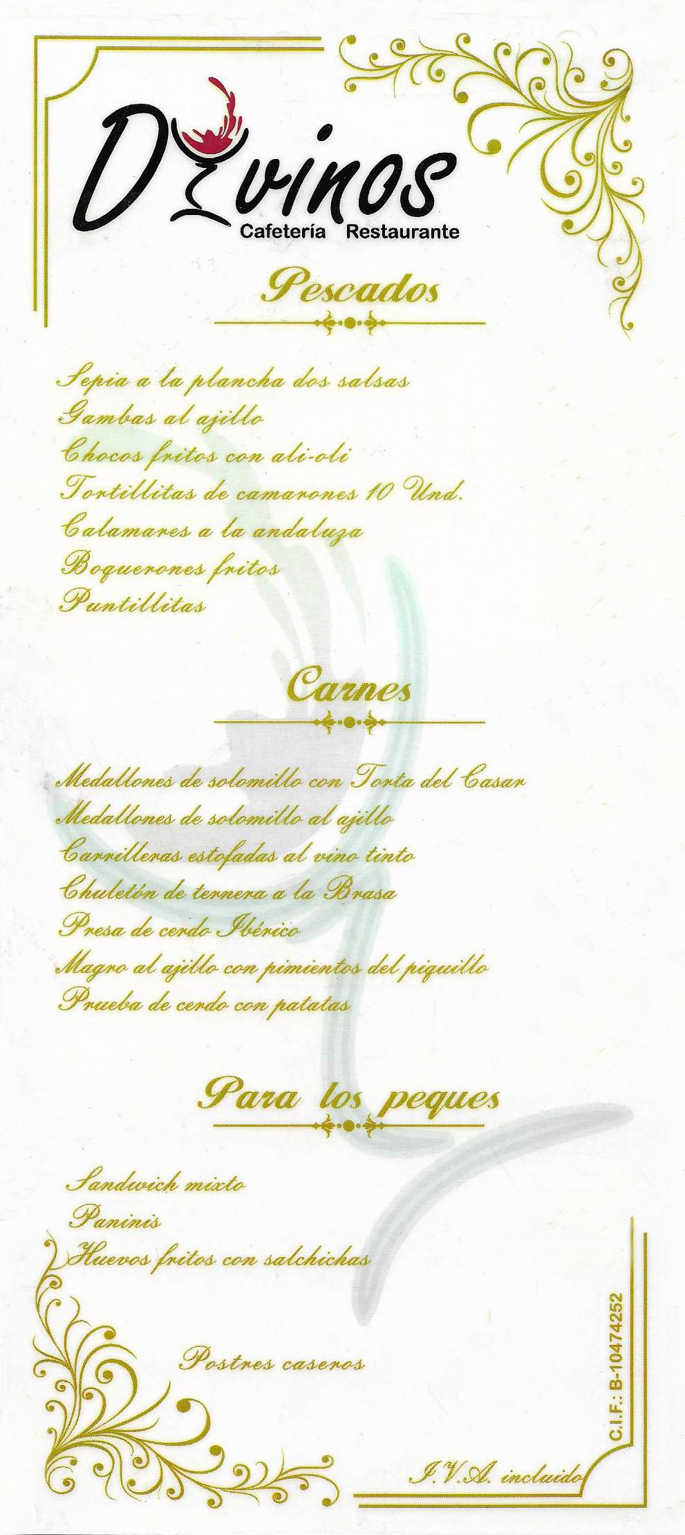 RESTAURANTE CAFETERIA CACERES DIVINOS – ESTACION DE AUTOBUSES