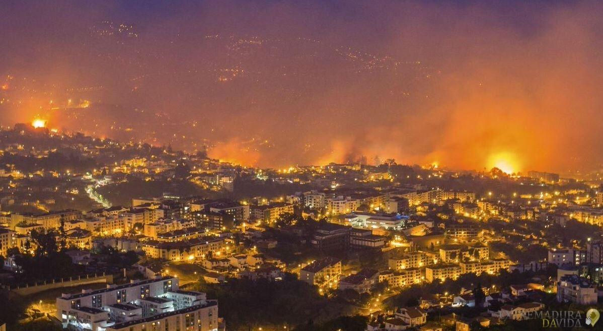 fuego portugal