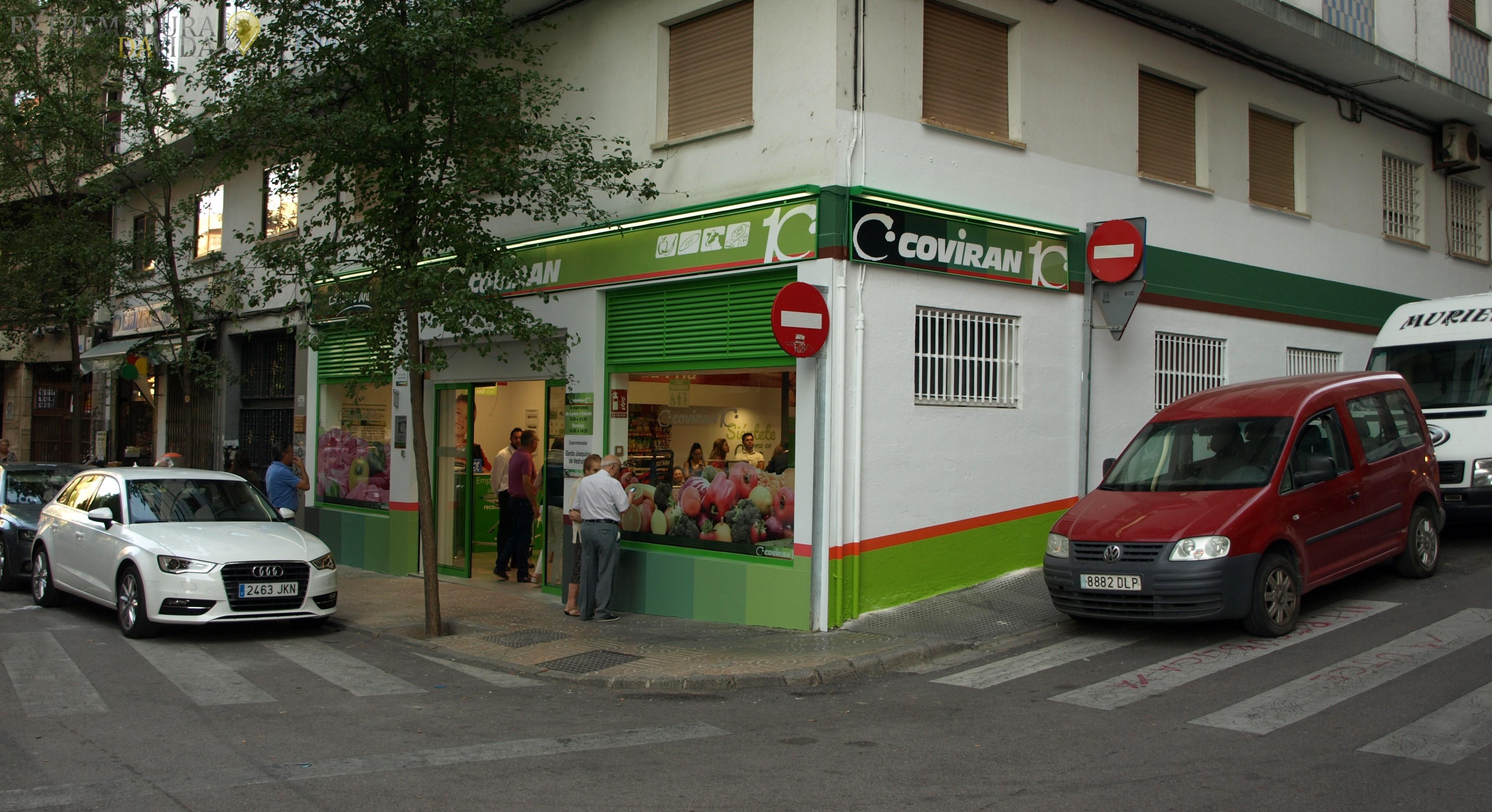 Supermercado productos extremeños en Cáceres Coviran