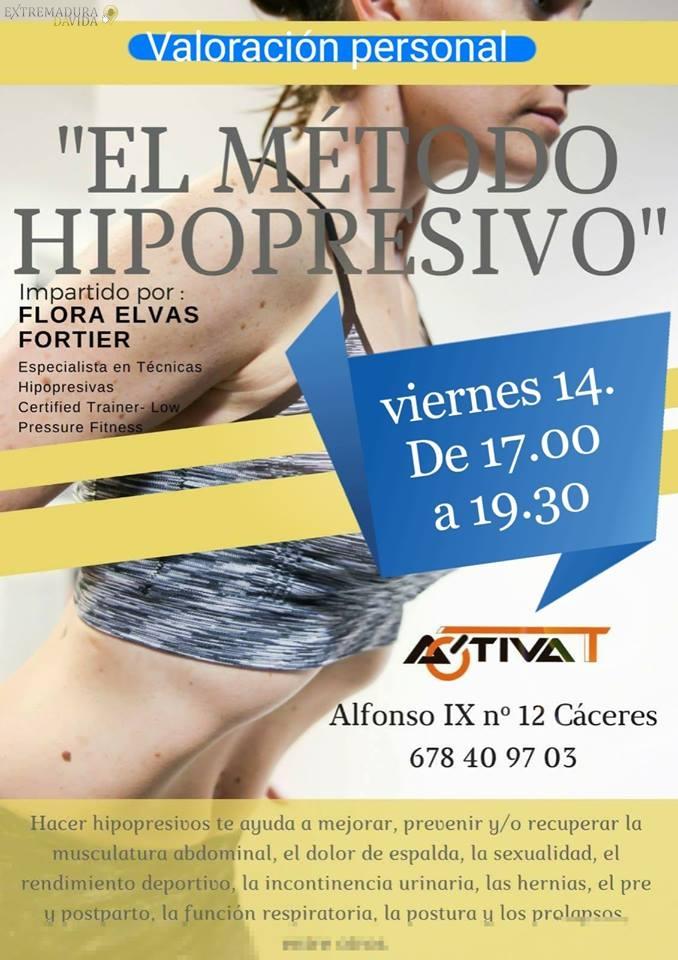 CENTRO DEPORTIVO HIPOPRESIVO EN CACERES ACTIVAT FITNESS