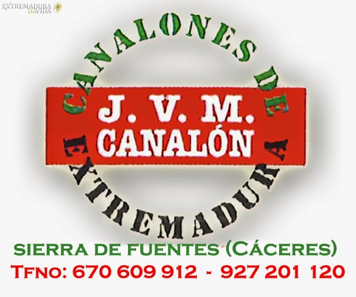 CANALONES EXTREMADURA JVM CACERES