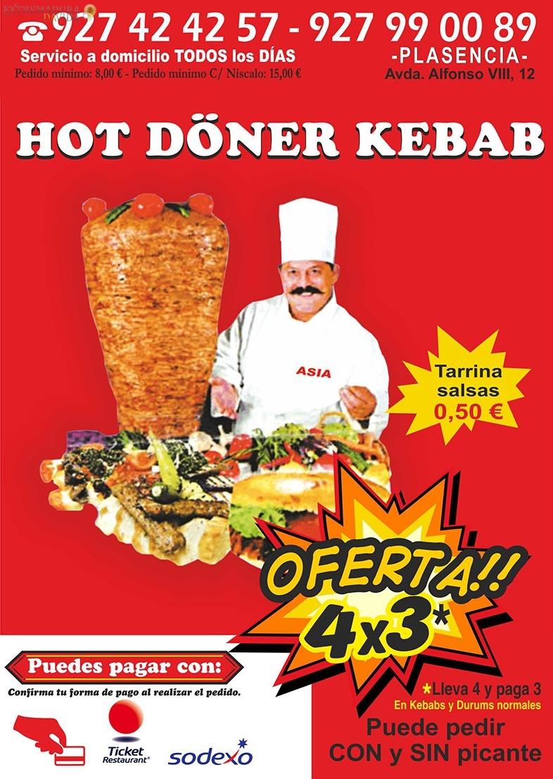 Kebab en Plasencia Hot Doner