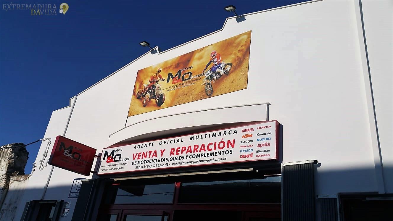 TALLER Y VENTA DE MOTOS Y QUADS EN ALMENDRALEJO MQ