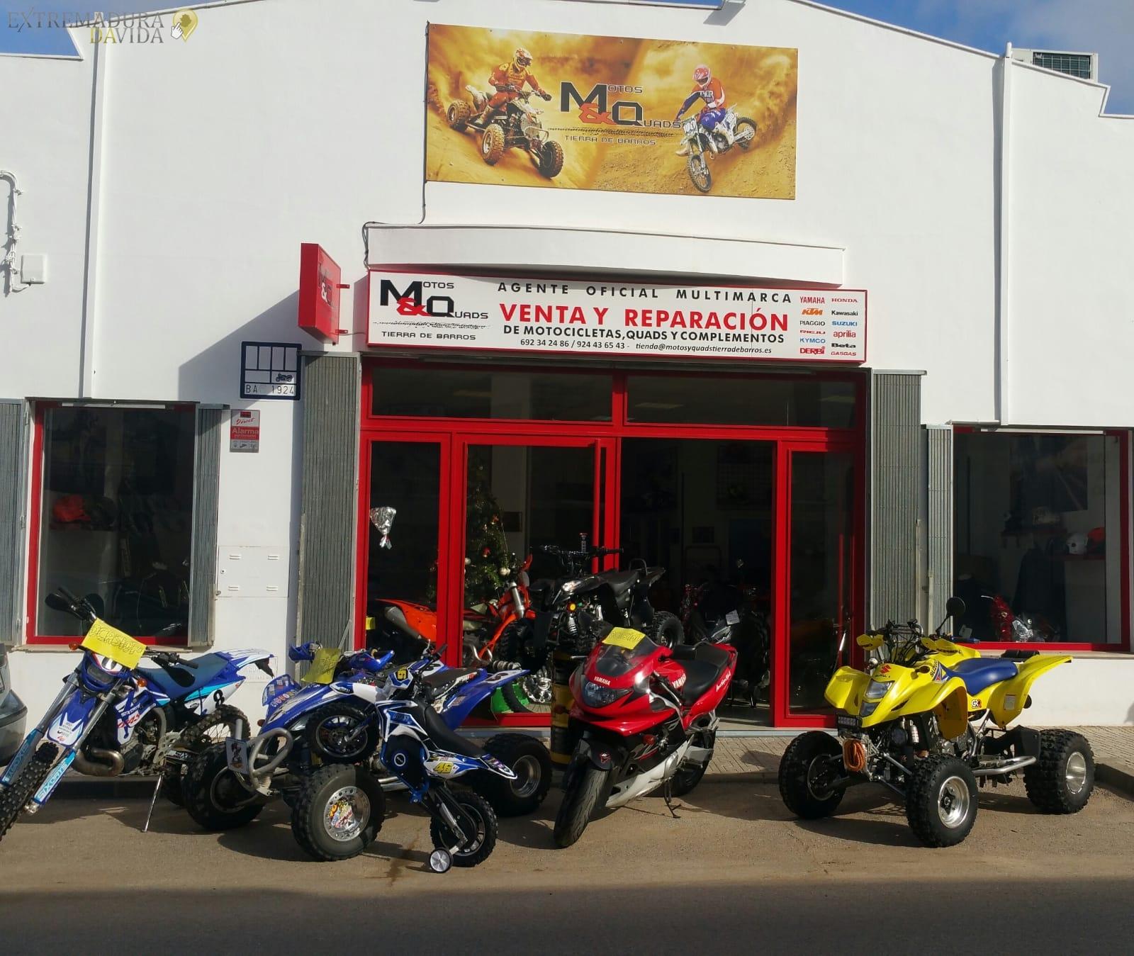 Taller de motos en Almendralejo Quads Mq