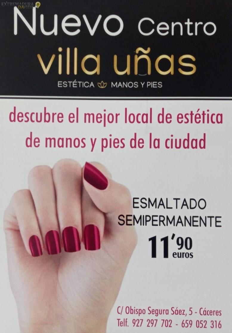 Manicura Pedicura en Cáceres Villa Uñas