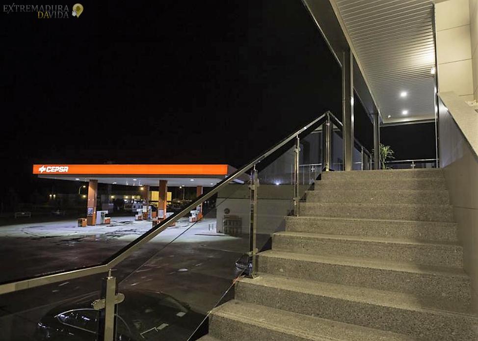 Area de servicio A66 Ruta de la Plata Almendralejo Hotel