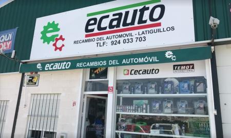 RECAMBIOS DEL AUTOMÓVIL EN MONESTERIO ECAUTO