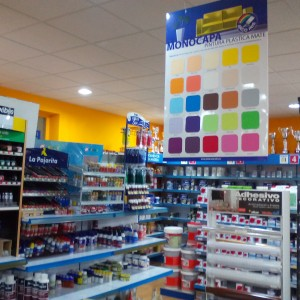Tienda de Pinturas y Almacén en Jaraíz de la Vera - Monto Pinturas