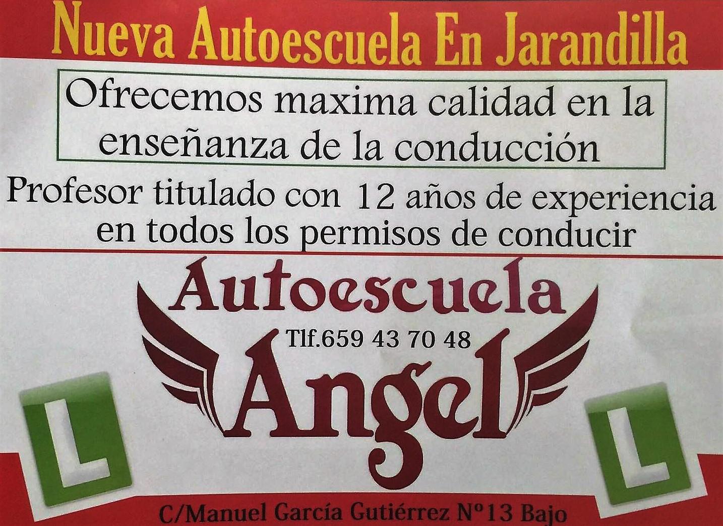 autoscuela en jarandilla de la vera Angel