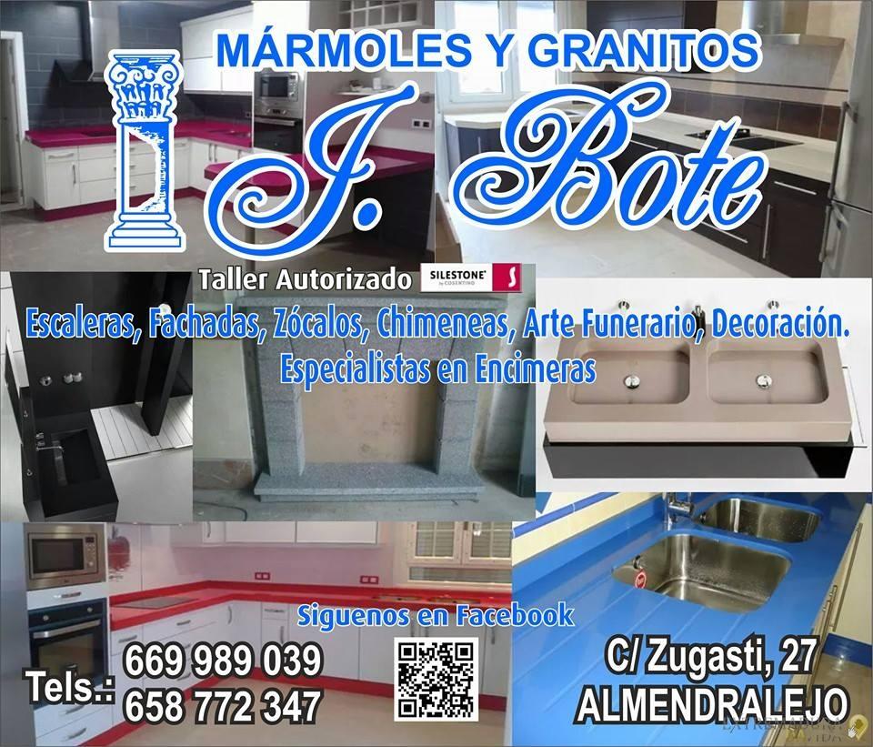 Mármoles Y Granito en Almendralejo J.Bote