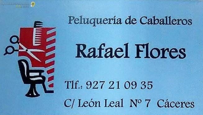 Peluquería de caballero en Cáceres Rafael Flores