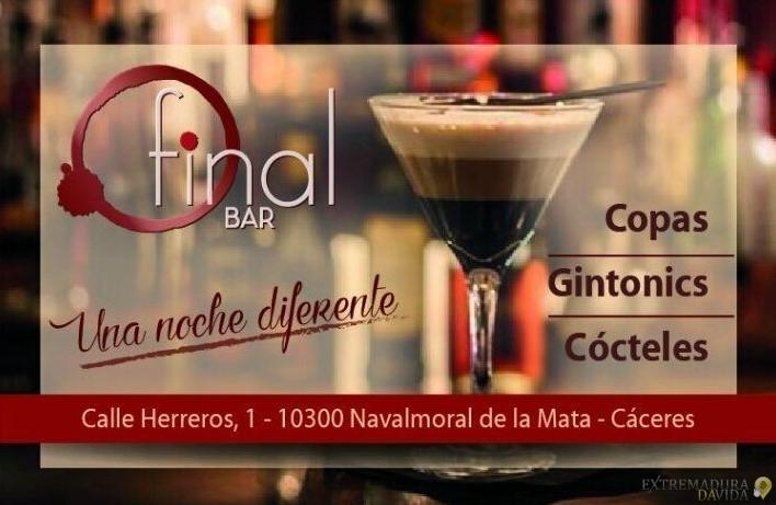 BAR CAFÉ COCTELERÍA EN NAVALMORAL DE LA MATA - FINAL