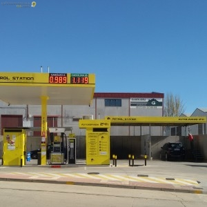 gasolinera mas barata de la vera petrol station