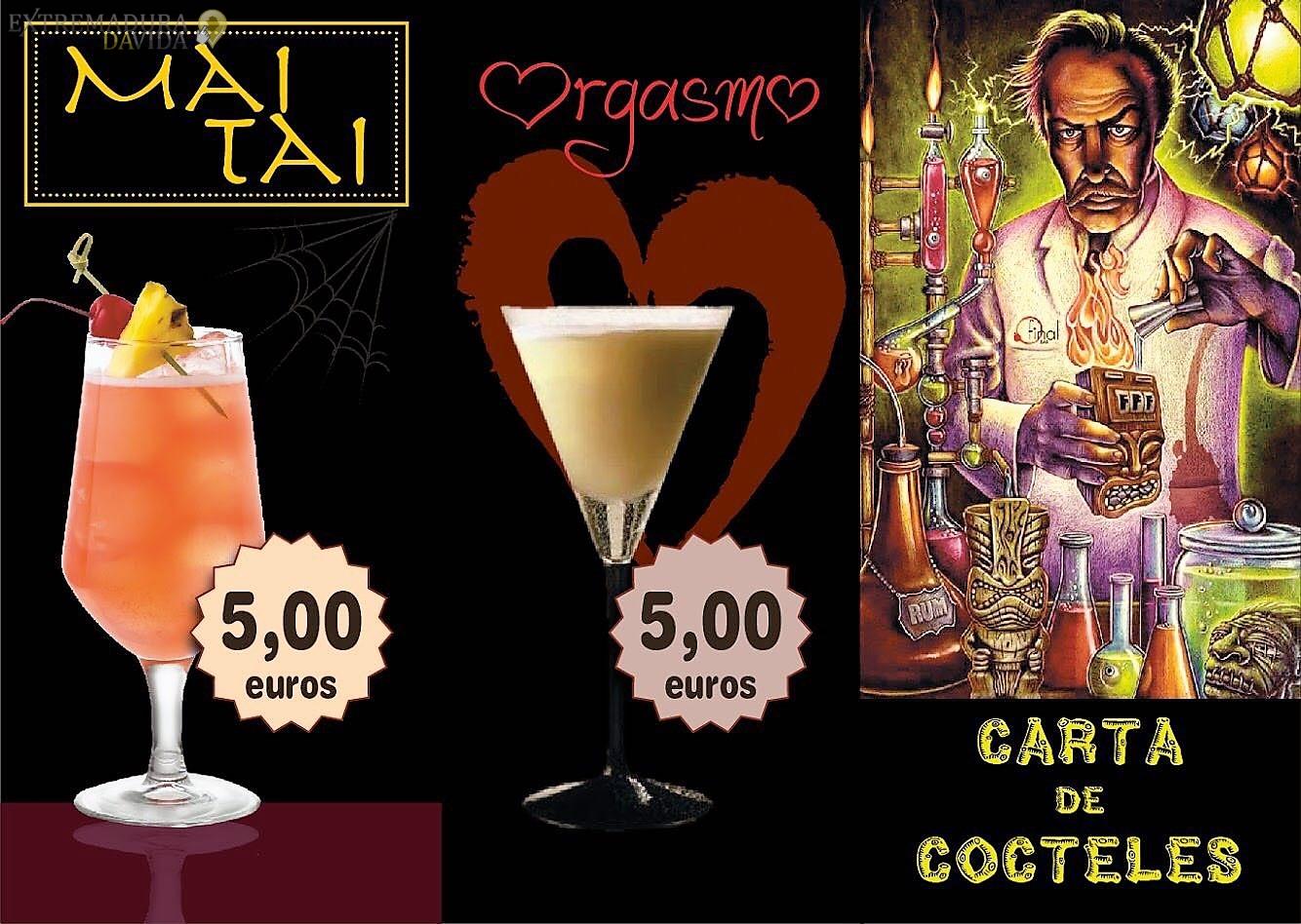 Bar Café Cocteleria en Navalmoral de la Mata - Final