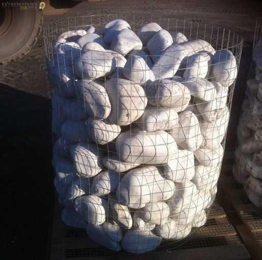 Bolos marmol blanco grandes