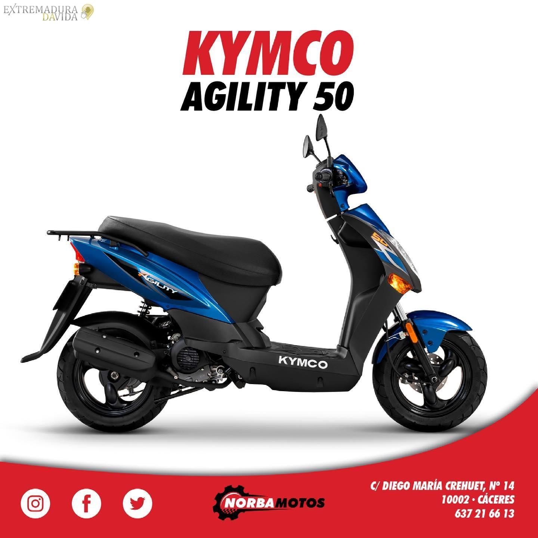 Concesionarío scooters Kimco en Cáceres Norbamotos