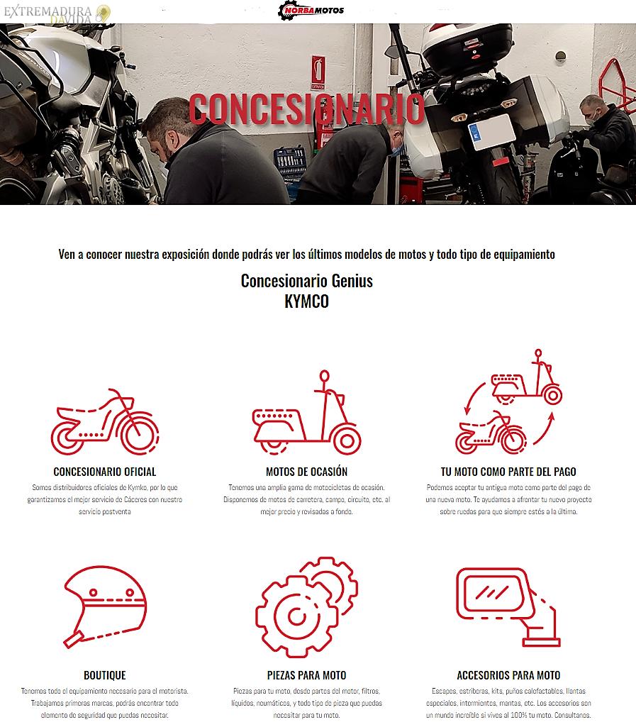 Concesionario de motos en Cáceres Nobamotos