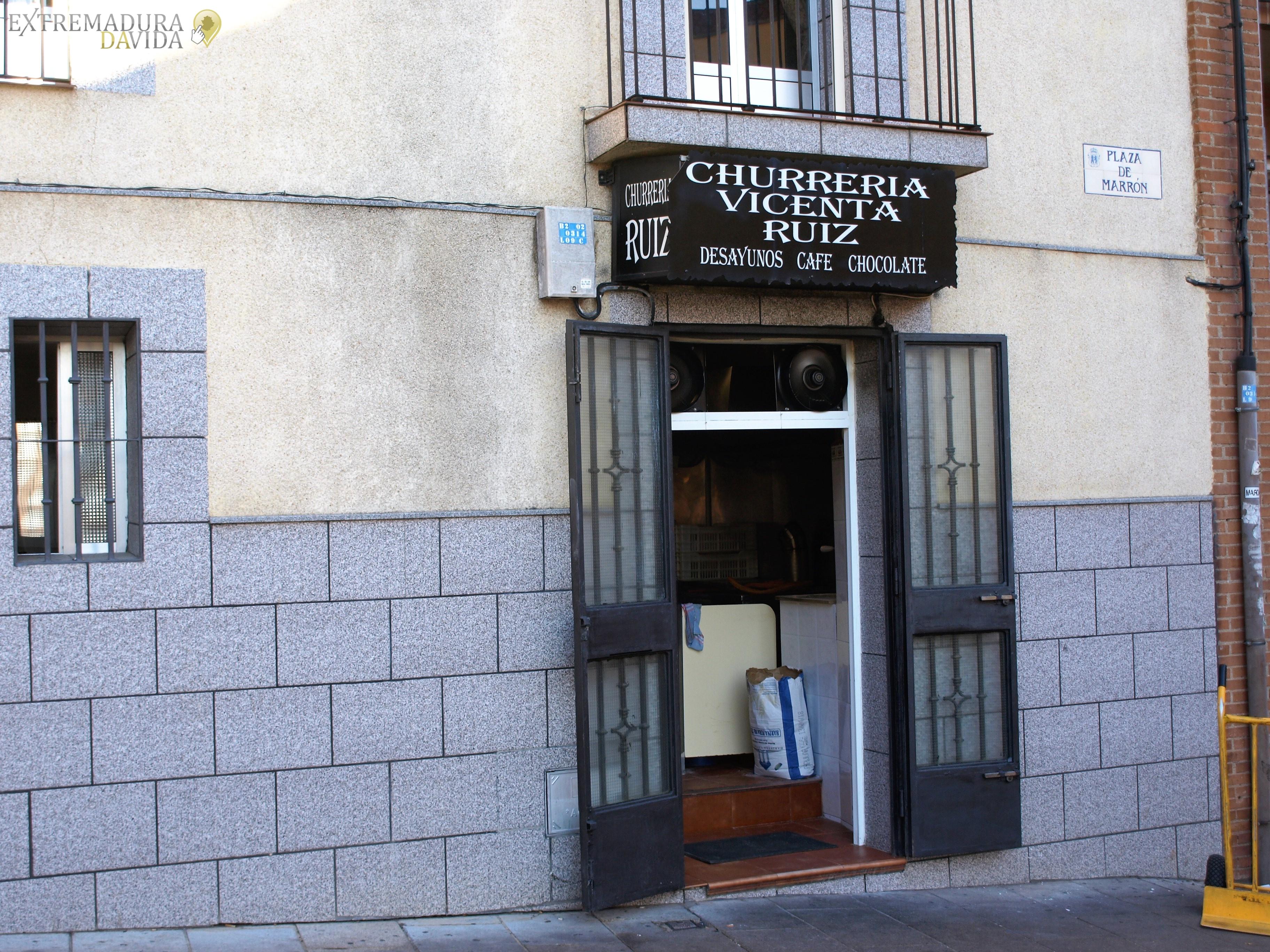 Churrería en Cáceres Vicenta Ruíz